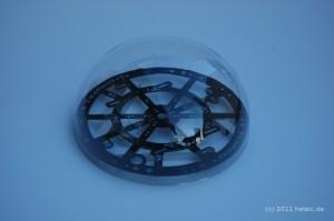 Pet Haube mit 182mm Innendurchmesser passend zur H&I Centerplate